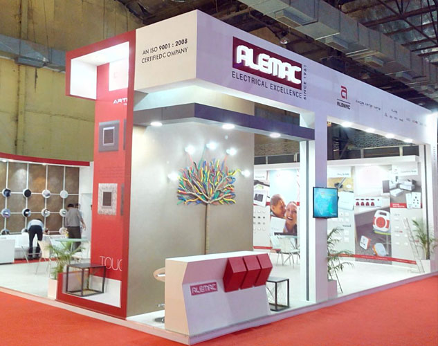 Exhibition Stall Materials : D exhibition stall design built for acetech