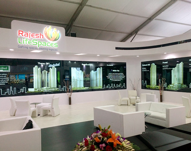 Real Estate Exhibition Stall : Innovative stall designs and exhibition services for mchi