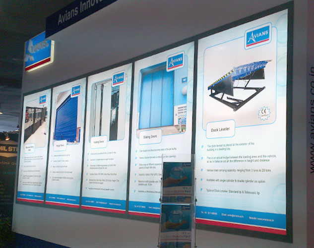 Exhibition Stall Posters : D exhibition stall design built for constro