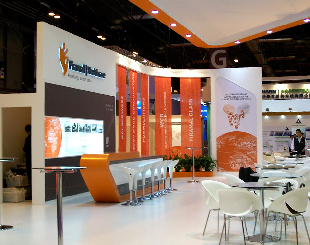 Exhibition Stand Builders Oman : Design and exhibition solutions for imtec