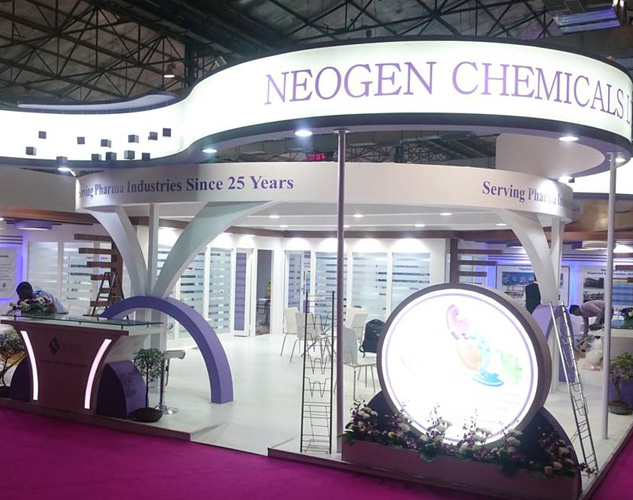 Checklist For Exhibition Booth : Custom built exhibition booth designs at cphi india