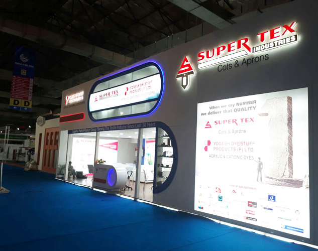 Exhibition Stall Size : Creative stall designs for gifa