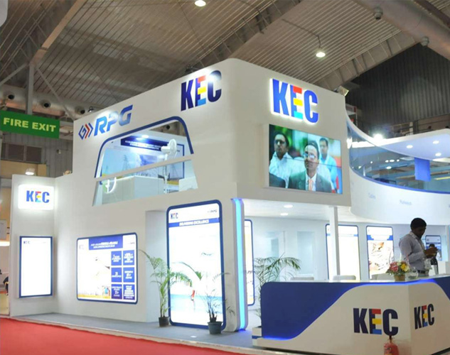Creative stall designs for WIRE & CABLE INDIA