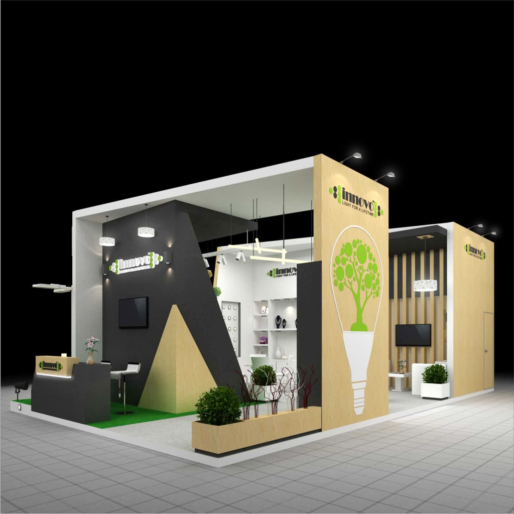 Real Estate Exhibition Stall : Kochar homes exhibition stall design fabrication exhibition