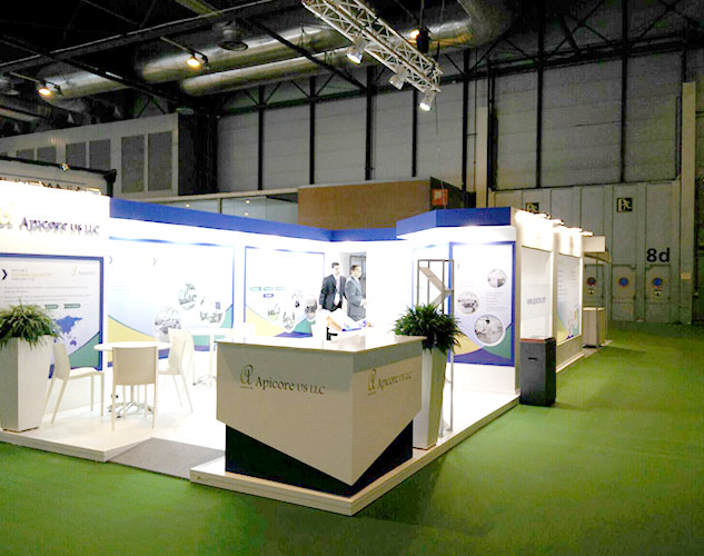 Pharmaceutical Exhibition Stand Design : Unique exhibition booth designs at cphi worldwide