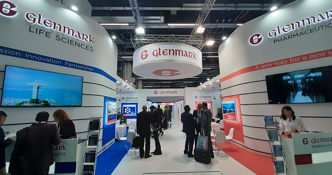 Glenmark, CPhI Worldwide, Frankfurt, Germany 2019